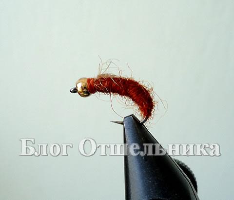 Мушка Рыже-коричневая