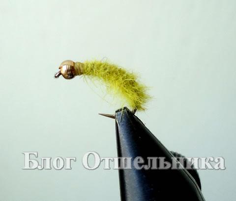 Мушка Зеленая лимонка
