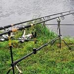 Донная удочка, рыбалка, ужение