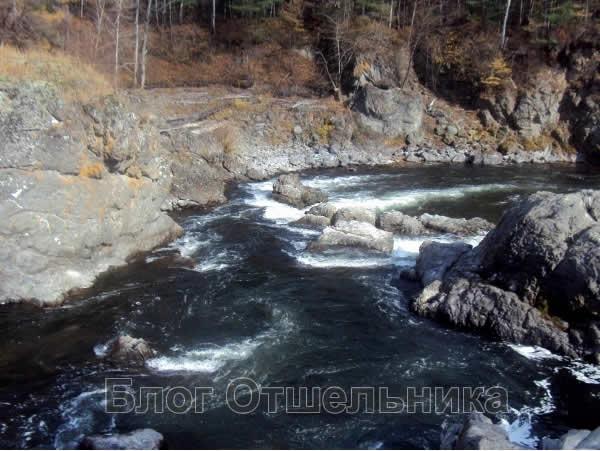 Пороги реки Кема