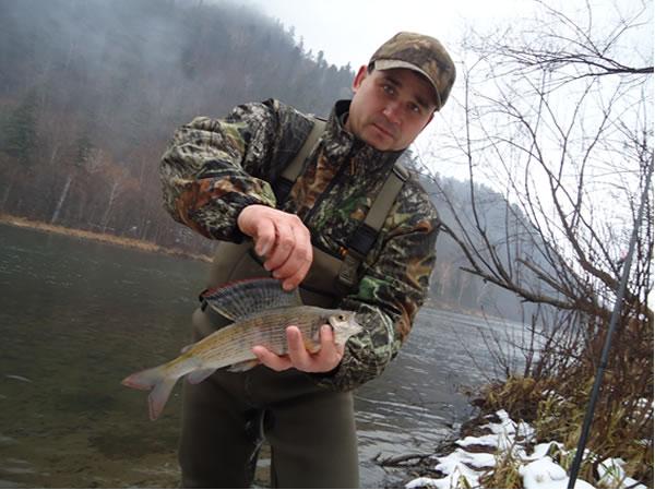 Рыбалка в мельничном приморский край
