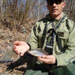 Рыбалка на хариуса, река Арсеньевка