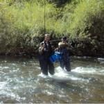 Ловля хариуса на реке Уссури