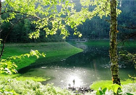 Шандуйские озера в Сихотэ-Алинь