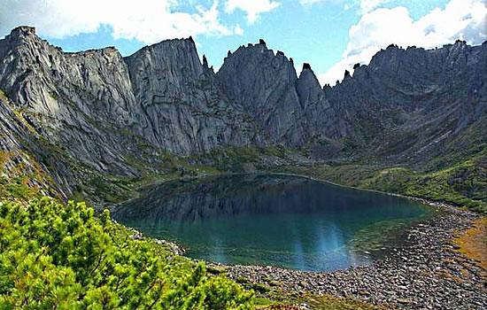 Озеро в Хабаровском крае