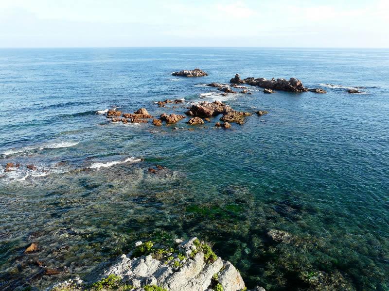 рифы к югу от о.Желтухина