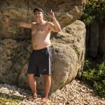 Тимофеевский пляж, камни