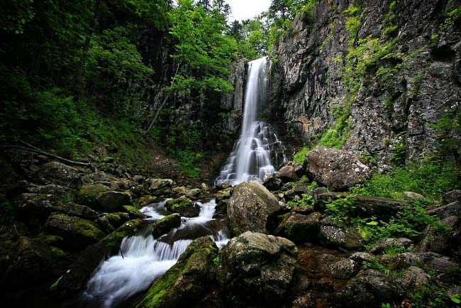 Еламовский водопад