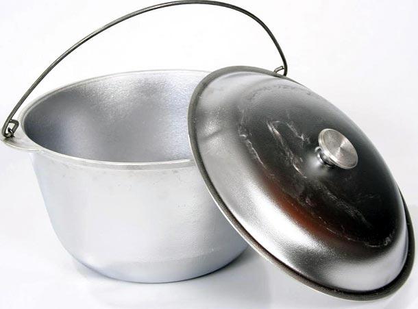 Котелок предназначен для приготовления пищи