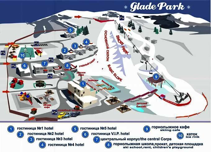 Горнолыжный комплекс «Glade Park»