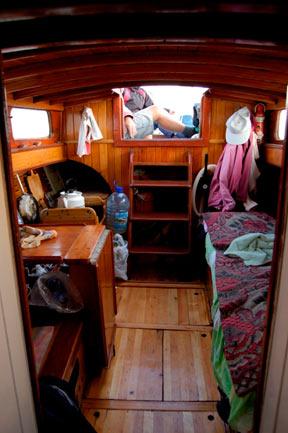 Моя старая-новая яхта имела каюту 2×2 метра