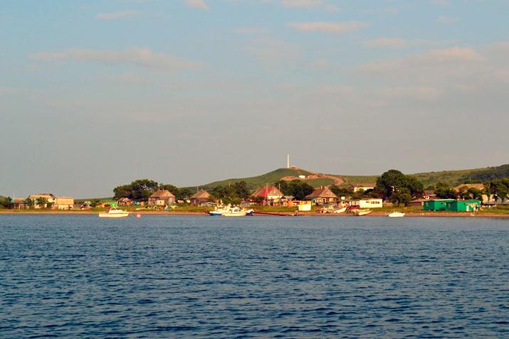 на острове Рейнеке